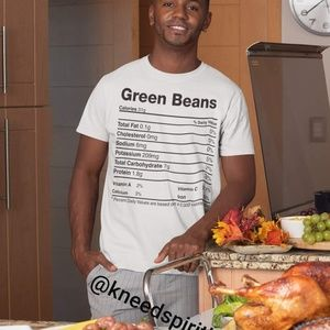 Food Nutritional Facts Tee 2